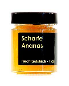Scharfe Ananas Fruchtaufstrich 155g