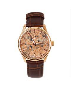 Armbanduhr mit Granit Ziffernblatt für Damen diverse Farben