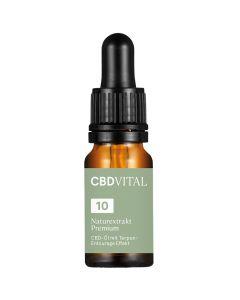 Bio CBD Naturextrakt Premium Öl 10 Prozent 10ml