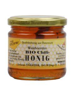 Bio Honig mit Chili 250g