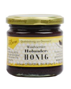 Bio Honig mit Holunder 250g