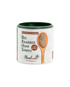 Bio Knabberhanfsamen süß gewürzt 125g