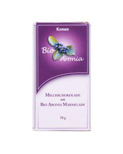 Milchschokolade mit Bio Aronia Fruchtaufstrich 70 g