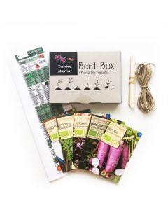 Bio Beet Box - Danke Mama - Saatgut Set inklusive Pflanzkalender und Zubehör