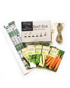 Bio Beet Box - Für Suppenköche - Saatgut Set inklusive Pflanzkalender und Zubehör