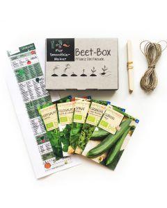 Bio Beet Box - Für Smoothie Maker - Saatgut Set inklusive Pflanzkalender und Zubehör