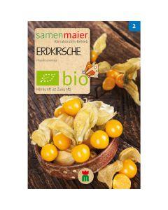 Bio Erdkirsche - Saatgut für zirka 200 Pflanzen