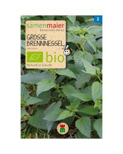 Bio Große Brennnessel - Saatgut für zirka 100 Pflanzen