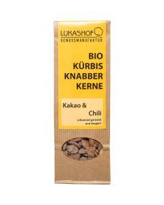 Bio Kürbiskerne Kakao Chili 80g