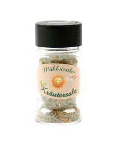 Bio Kräutersalz a guats Gmüat 60g Glasstreuer