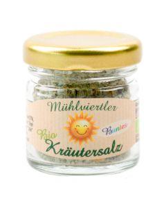 Bio Kräutersalz Buntes 30g Portionsglas
