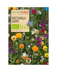 Bio Nützlingsweide Mischung diverse Arten - Saatgut für zirka 2 Quadratmeter