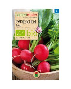 Bio Radieschen Sora - Saatgut für zirka 200 Radieschen