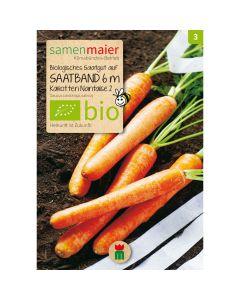 Bio Saatband Karotten Nantaise 2 - 6m Saatband