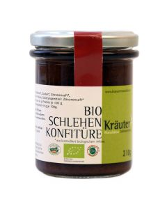 Bio Schlehen Konfitüre 210g