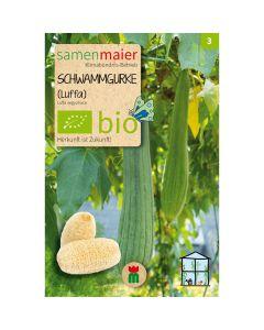 Bio Schwammgurke - Saatgut für zirka 5 Pflanzen