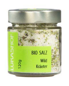 Bio Wildkräuter Salz 120g