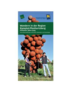 Wanderkarte Wandern in der Region Kamptal- Manhartsberg
