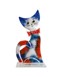 Deko Katze aus Glas