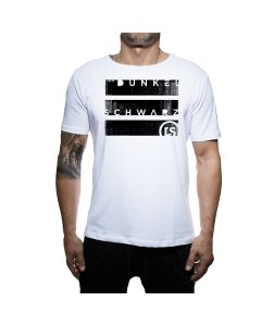 Dunkelschwarz T-Shirt DS-1 BIGBLOCKS white