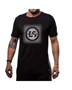 Dunkelschwarz T-Shirt DS-1 DOTSICON black
