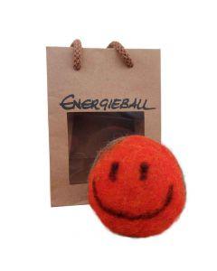 Energieball - handgefilzt orange