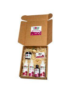 Mohn-Amour Kosmetik Geschenkbox groß