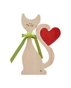 Kätzchen mit Herz