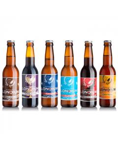 Loncium Craft Bier Probierpaket 12 x 330ml