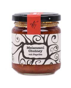 Melanzani Chutney mit Paprika 212ml