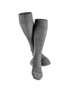 Merinosocken Knee High Grau