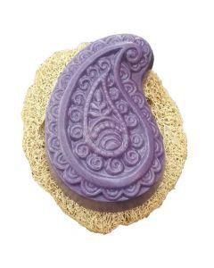 Set Dusch-Teil Lavendel mit Luffa-Scheibe