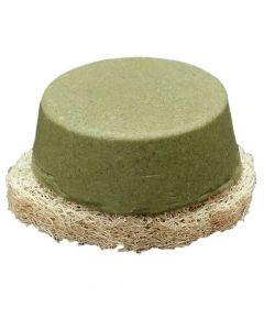 Set: Shampoo-Teil Kräuter mit Luffa-Scheibe