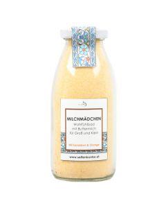 Milchmädchenbad Milchbad Orange und Sanddorn 230g
