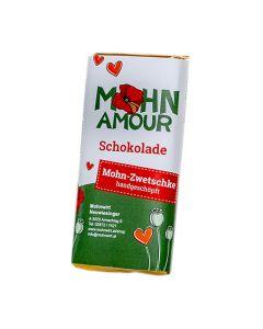 Mohn-Zwetschkenschokolade 65g - DailyDeal