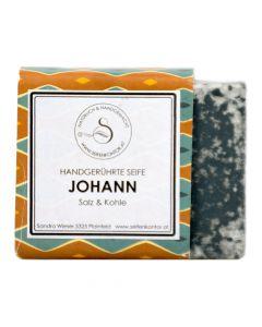 Naturseife Johann Salz und Kohle 90g