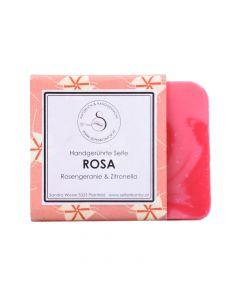 Naturseife Rosa Rosengeranie 90g