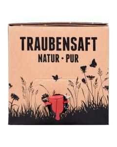 Roter Traubensaft Bag in Box 3 Liter