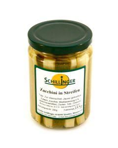 Zucchini in Streifen eingelegt 355g