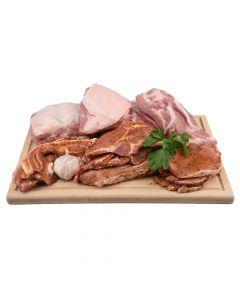 Schweinefrischfleisch und Grillpaket 7kg