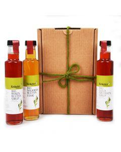 Bio Sirup und Essig Geschenkbox