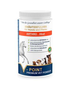Arthro Akut - Premium Kräuterpulver für Hunde und Pferde 500g