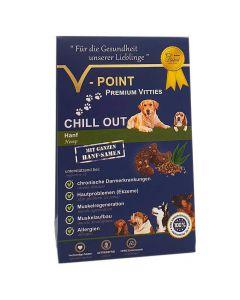 Chill out - Hanf - Premium Vitties für Hunde 250g
