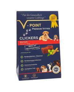 Clickers - Bierhefe - Premium Vitties für Hunde 250g