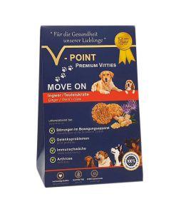 Move on - Ingwer-Teufelskralle - Premium Vitties für Hunde 250g