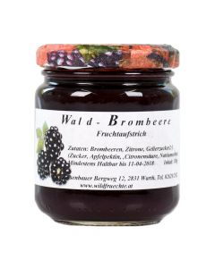Waldbrombeere Fruchtaufstrich 180g - DailyDeal