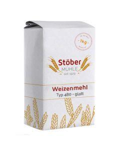 Weizenmehl T480 glatt 1000g