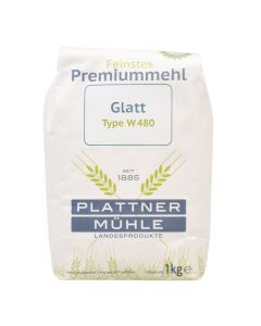 Weizenmehl Type 480 Glatt 1000g