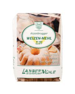 Weizen Mehl W 480 glatt 1kg