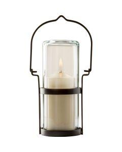 Wiederbefüllbare Tischleuchte Lanterna - klar 15cm